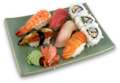 Raw fish sushi for Is sushi raw fish